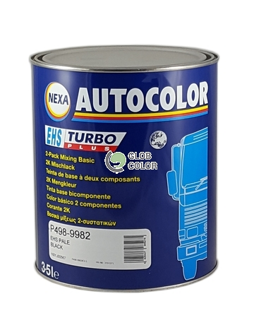 P498-9982/E3.5 EHS Turbo Plus Pale Black